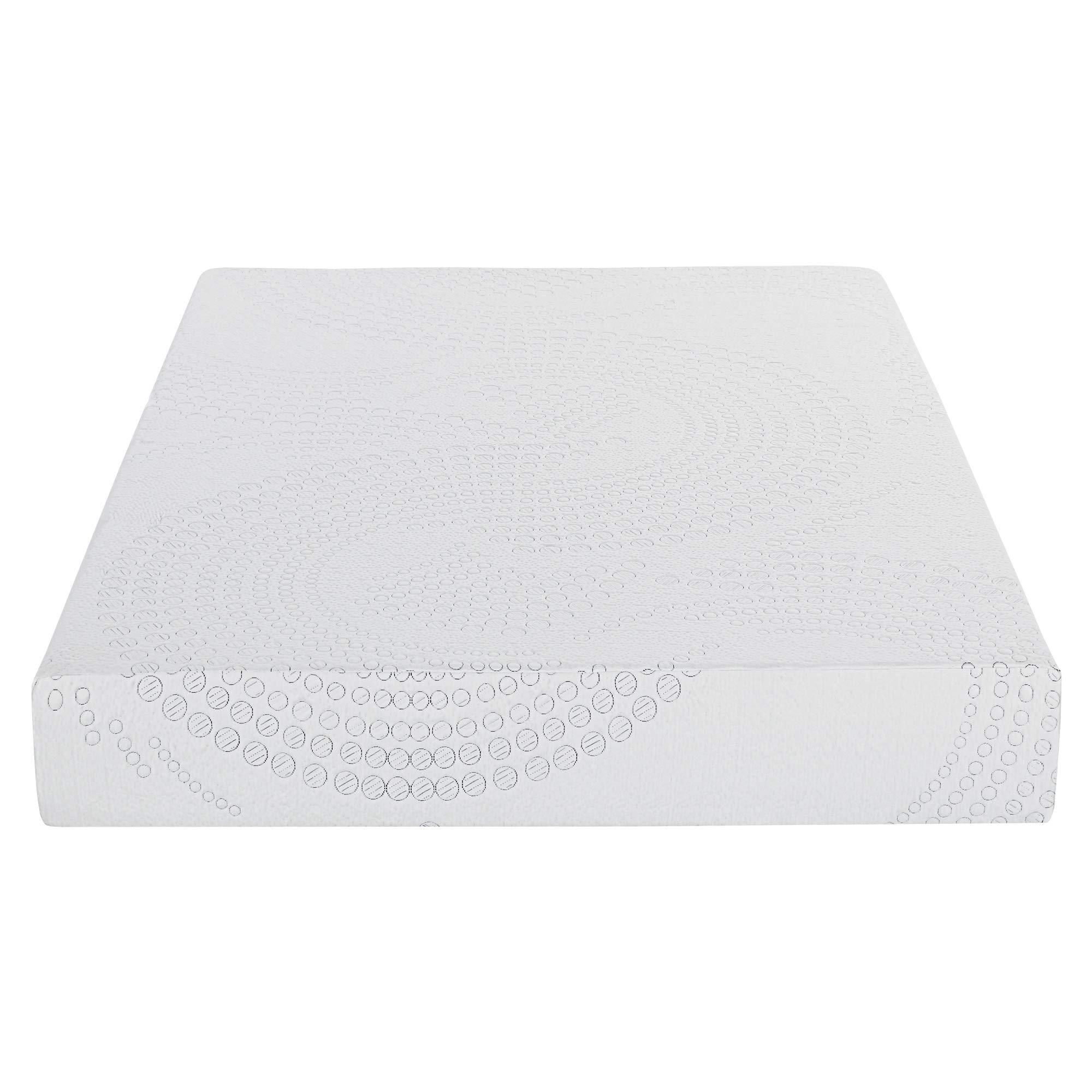 SLEEPLACE 10 Inch Memory Foam Mattress-10 SP10FM10T