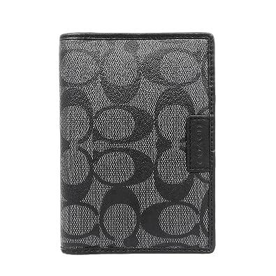81860dc42c9e Amazon | [コーチ] COACH 小物 (カードケース) F68667 チャコール ...