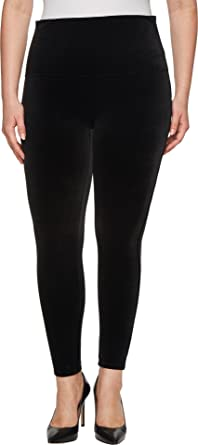 4f2b6a49772bec SPANX Women's Plus Size Velvet Leggings at Amazon Women's Clothing store: