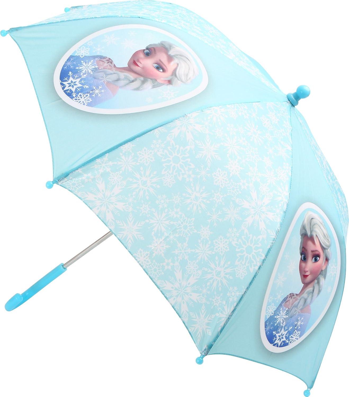 Frozen–Parapluie–Anna et Elsa–Reine des Neiges–La poignée est pour les mains des enfants est donc le Parapluie même en cas de vent peut être en place.