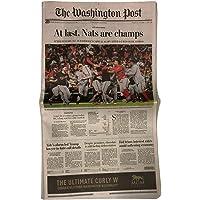 Washington Nationals World Series Champions 10/31/19 Washington Post Full Newspaper