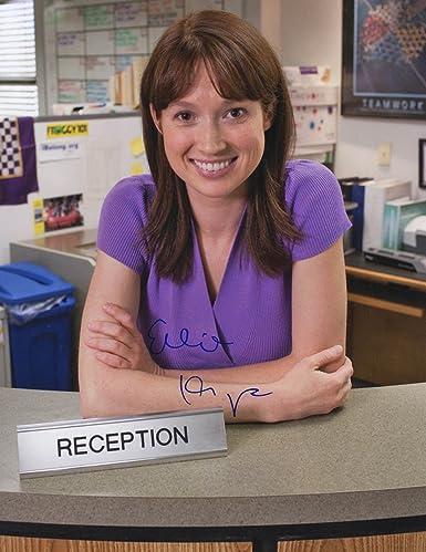 Ellie Kemper The Office Autographed Erin Hannon 11x14 Photo