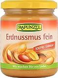 Rapunzel Erdnussmus fein, 1er Pack (1 x 250 g) - Bio