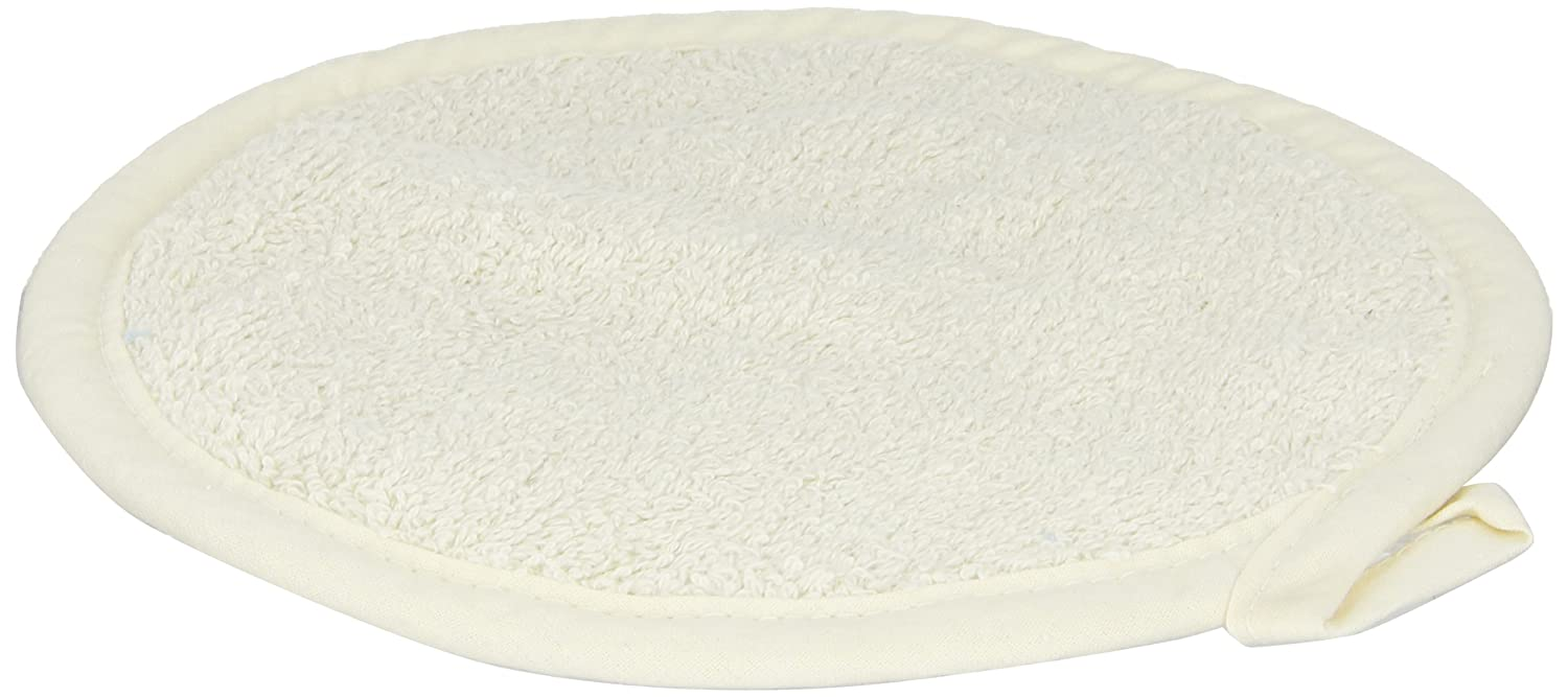 "San Jamar 813RPH Heavy Duty Terry Cloth Round Pot Holder, 8"" Diameter x 8"" Length (Pack of 12)"