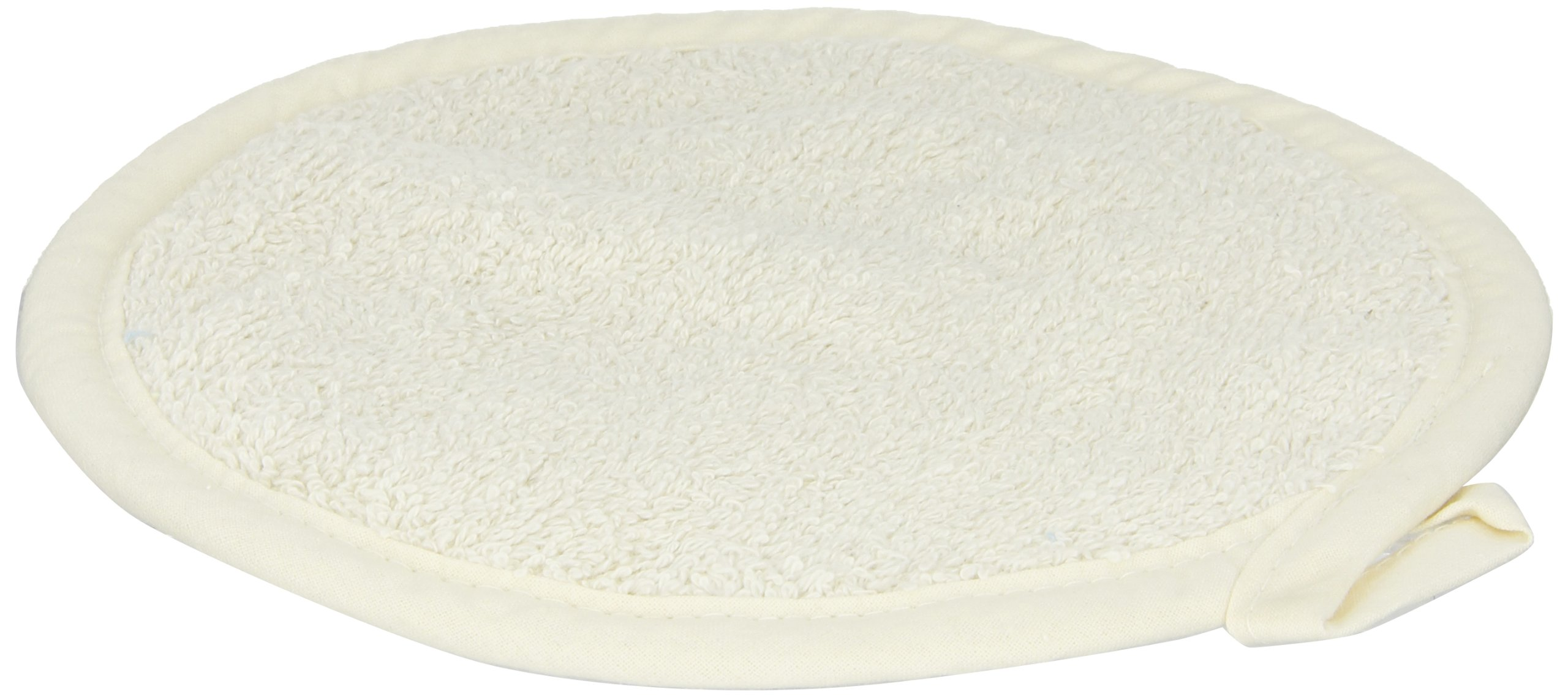 San Jamar 813RPH Heavy Duty Terry Cloth Round Pot Holder, 8'' Diameter x 8'' Length (Pack of 12)