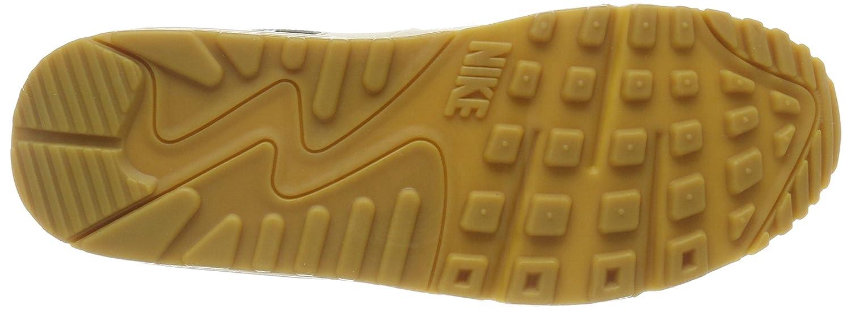 NIKE Damen (Fossil/Sail-schwarz-gum Air Max 90 Gymnastikschuhe, Beige (Fossil/Sail-schwarz-gum Damen Light Braun 325213-207) 63c110