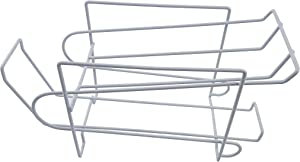 FixtureDisplays Stylish Soda Can Beverage Dispenser Rack, Dispenses 10 Standard Size 12oz Soda Cans and Holds Canned Foods 16938-NF