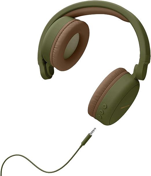 Energy Headphones 2 Bluetooth Green (Circum aural, système de Pliage, Batterie Rechargeable, Audio in)