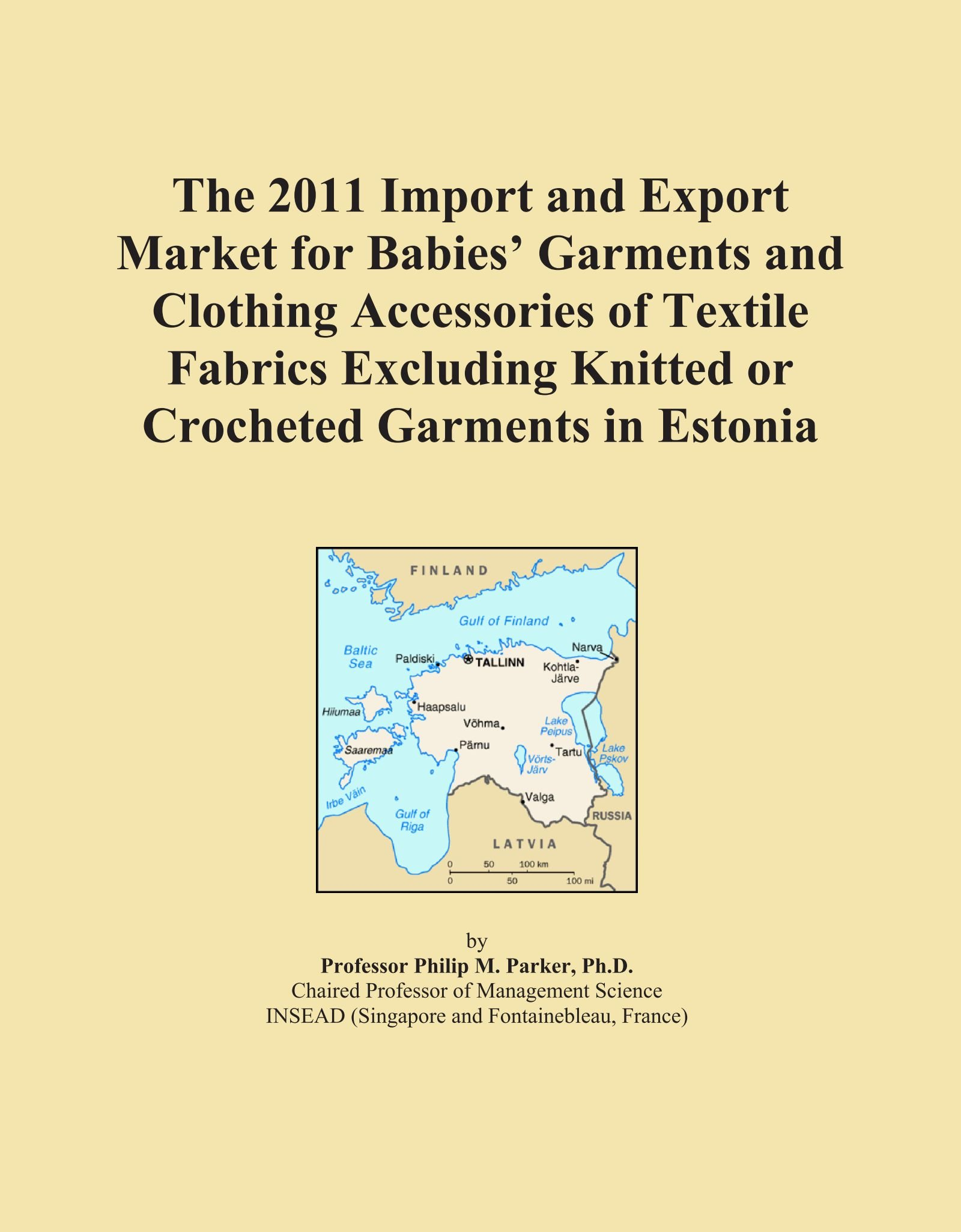 Download The 2011 Import and Export Market for Babies' Garments and Clothing Accessories of Textile Fabrics Excluding Knitted or Crocheted Garments in Estonia PDF