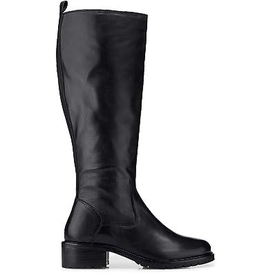 Another A Damen Damen Klassik Leder Stiefel, Langschaft