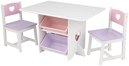 KidKraft Heart Table and Chair Set  sc 1 st  Amazon.com & Amazon.com: KidKraft Heart Table and Chair Set: Toys u0026 Games