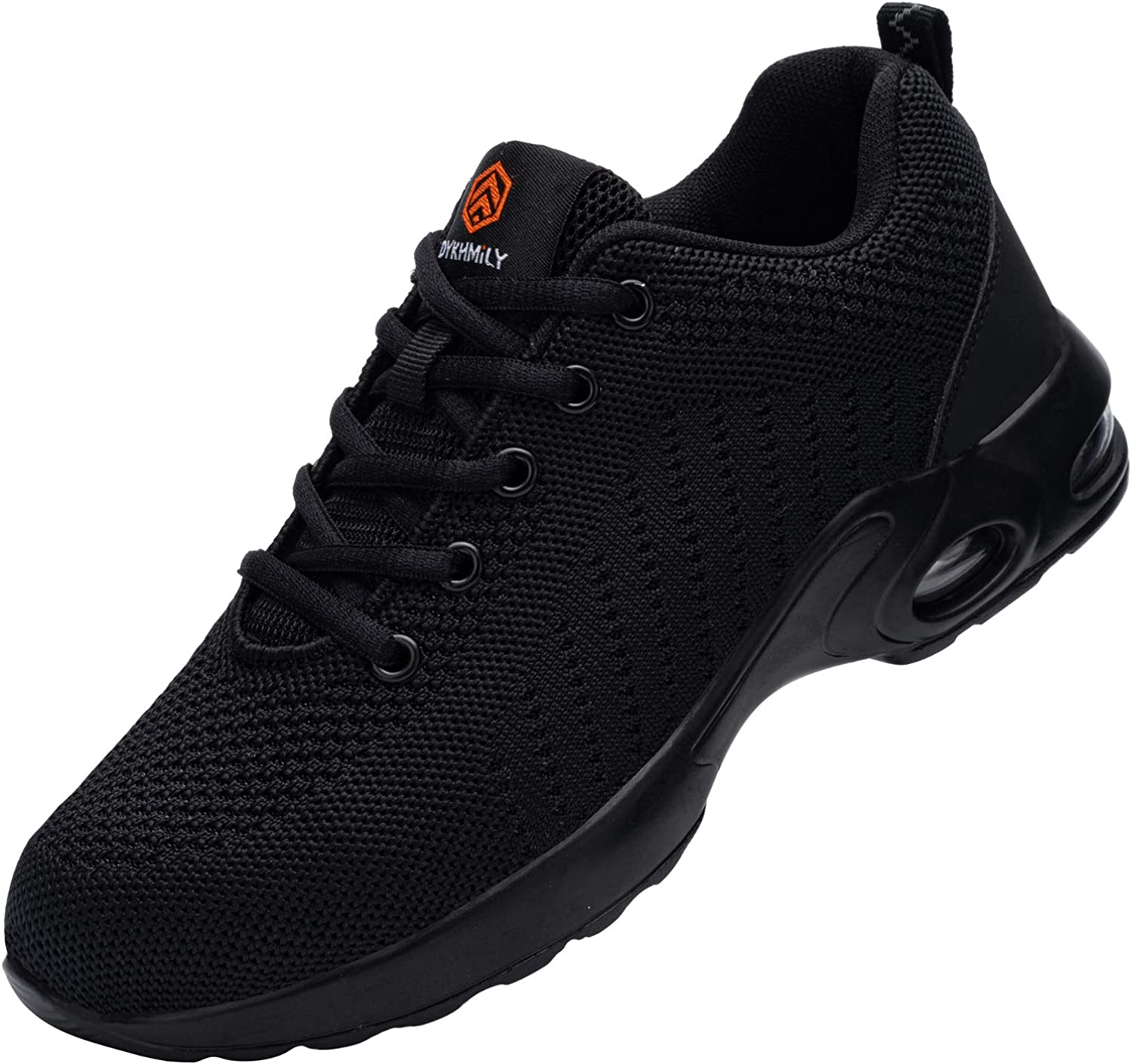 DYKHMILY Steel Toe Shoes Men Women, Indestructible Safety Slip Resistant Work Shoes, D9003: Shoes
