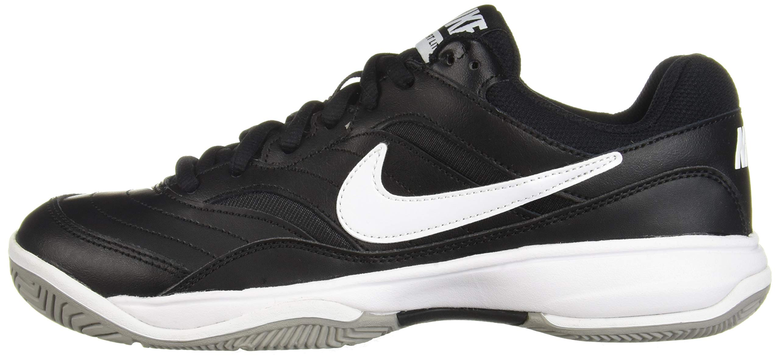 NIKE Men's Court Lite Athletic Shoe, Black/White/Medium Grey, 7.5 Regular US by Nike (Image #5)