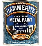 Hammerite Métal Peinture martelé 750ml Bleu