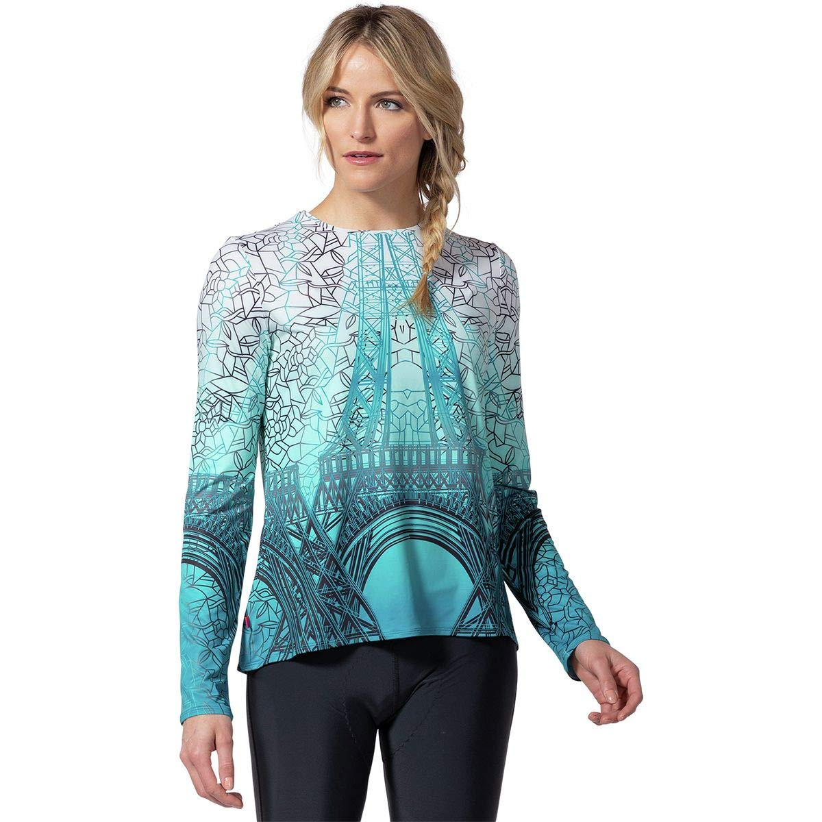 Terry Bicycles Soleil Flow Long-Sleeve Jersey - Women's Eiffel, S by Terry Bicycles