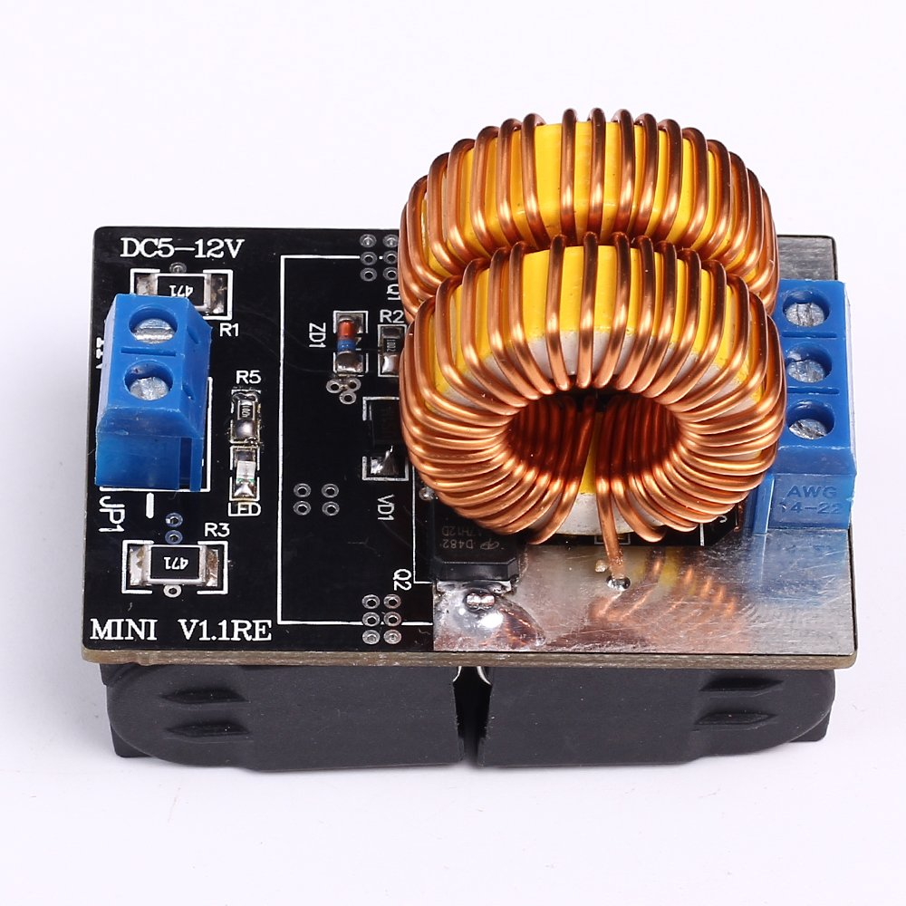 Icstation 150w Zvs Low Voltage Induction Heating Module Diy Heater Circuit For Pinterest With Brass Coil Flyback Driver Industrial Scientific