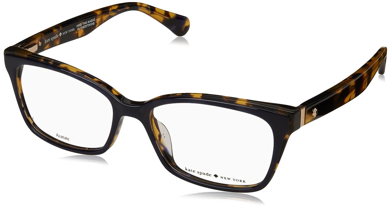 f55de3d7bbf Eyeglasses Kate Spade Jeri 0JBW Blue Havana at Amazon Men s Clothing store