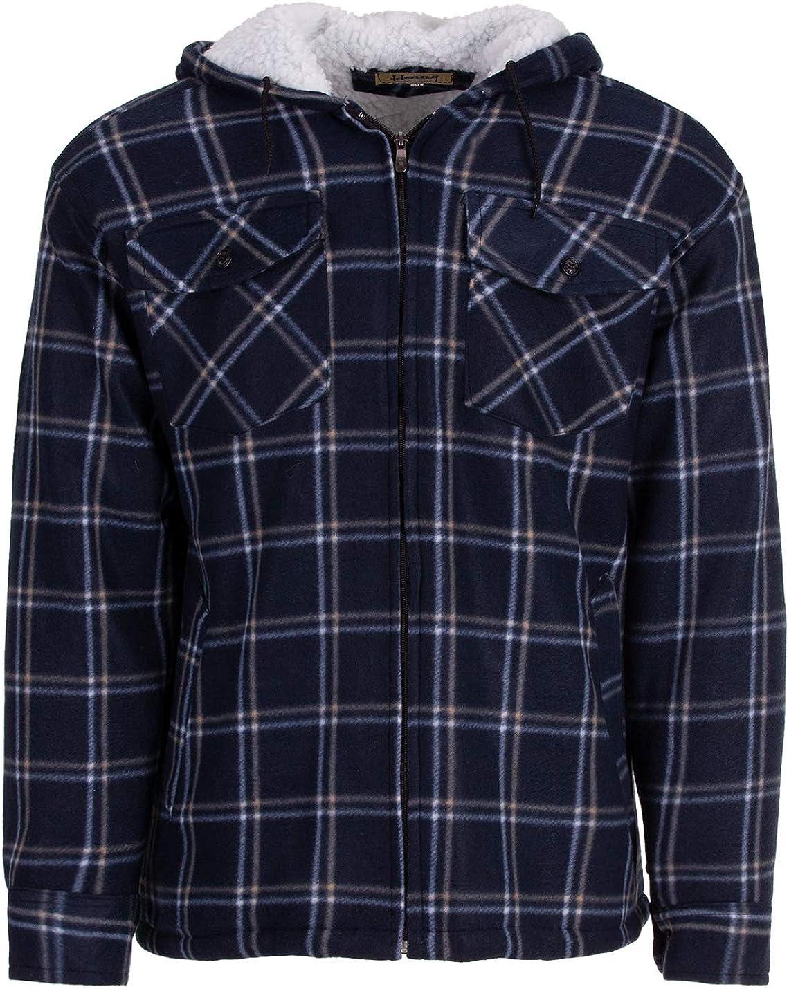 Hoang Textil GmbH Thermohemd Arbeitsjacke Herren Holzf/äller W/ärmeisolierend