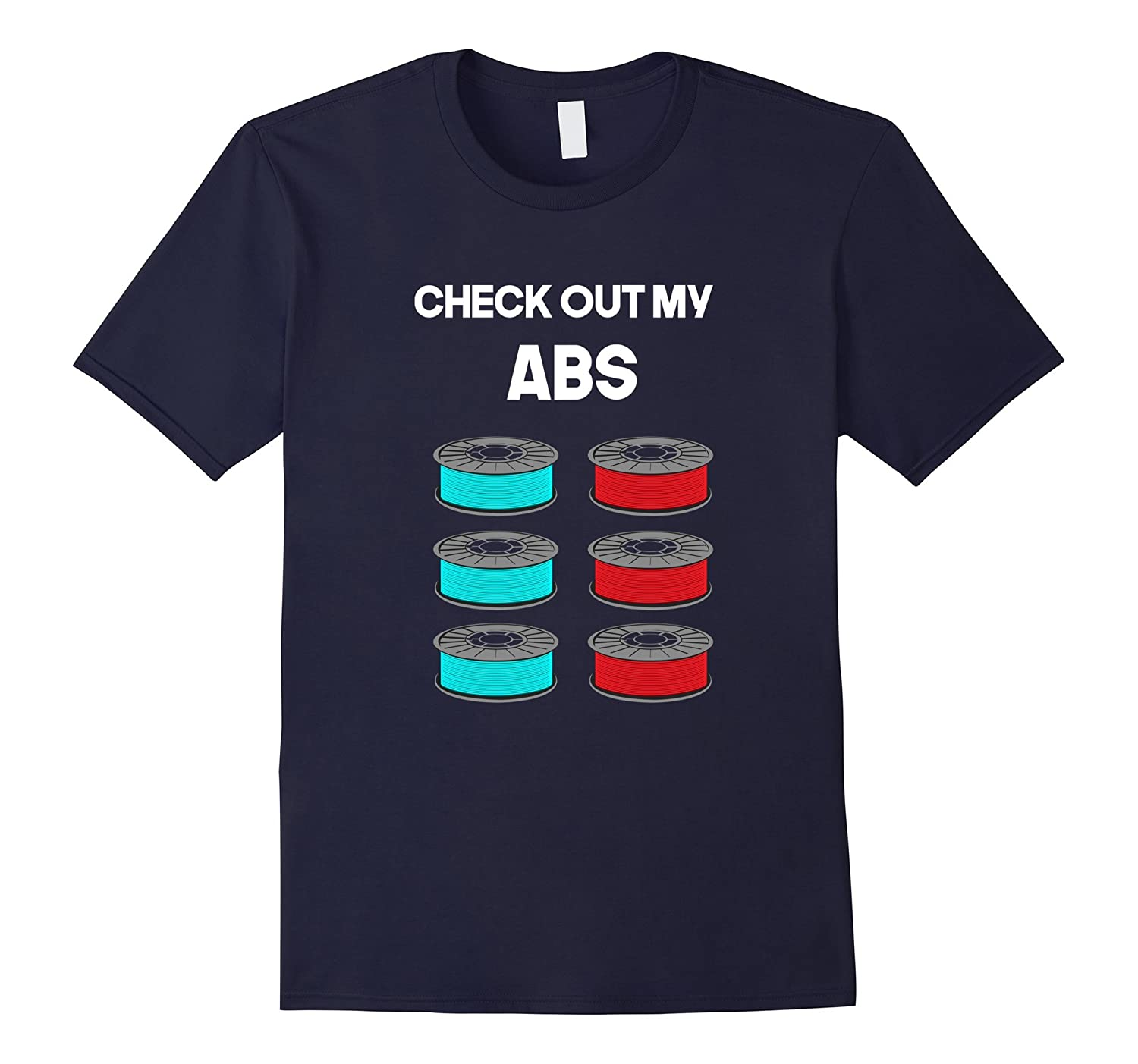 Mens 3D Printing Shirt check out my ABS Filament T-Shirt-BN