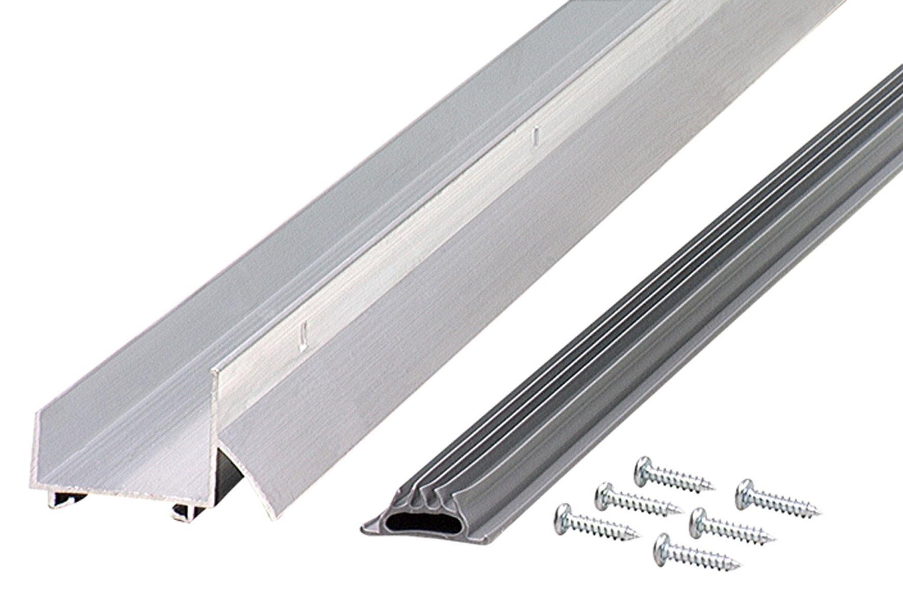 M-D Building Products 6114 36-Inch Fits 1-3/8 Inch Doors U-Shaped Door Bottom with Drip Cap