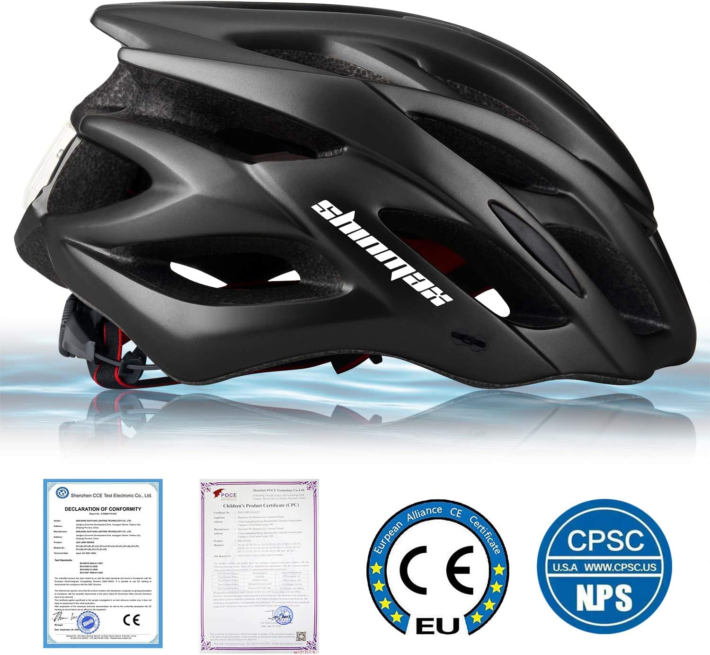 WEEKAN Adult Bike Helmet Cycling Helmet Mountain Bike Helmet Cycle Sport Helmet Specialized Safety Protection Helmet Road Cycling Helmet CPSC//CE Certified Adjustable Lightweight Helmet for Men Women