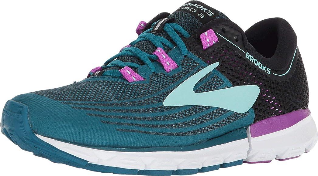 Brooks Neuro 3, Zapatillas de Running para Mujer, Multicolor (Lagoon/Black/Purple 329), 36 EU: Amazon.es: Zapatos y complementos