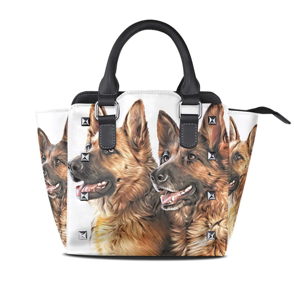Design4 Handbag Coloful Halo Flower Carp Genuine Leather Tote Rivet Bag Shoulder Strap Top Handle Women