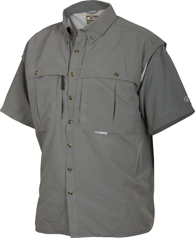 Drake Outdoors Short Sleeve Wingshooter Shirt