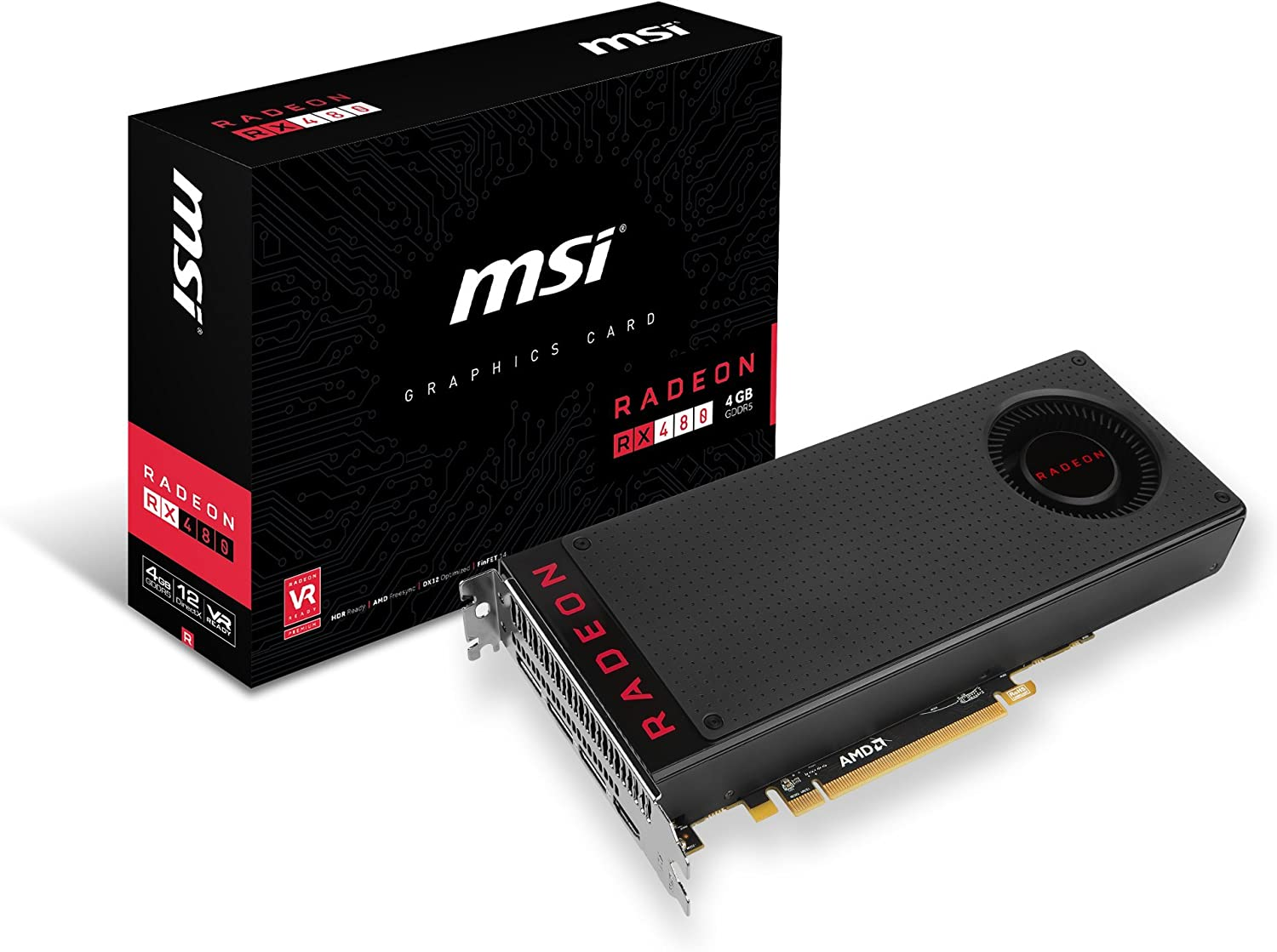 MSI RX 480 4G Graphic Cards