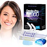 Teeth Whitening Kit - Professional At Home Teeth Whitening - Denta-Pro2000 It's Safe & Affordable - Get Whiter Teeth After Just One Use!