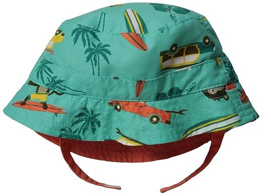 439ba2fef52 Carters Baby-Boys Newborn Reversible Monkey Bucket Hat with SPF-UV ...