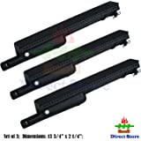 Direct store Parts DB106 (3-pack) Cast Iron Burner Replacement Charbroil, Centro, Front Avenue, Costco Kirkland, Thermos, Gas Grill