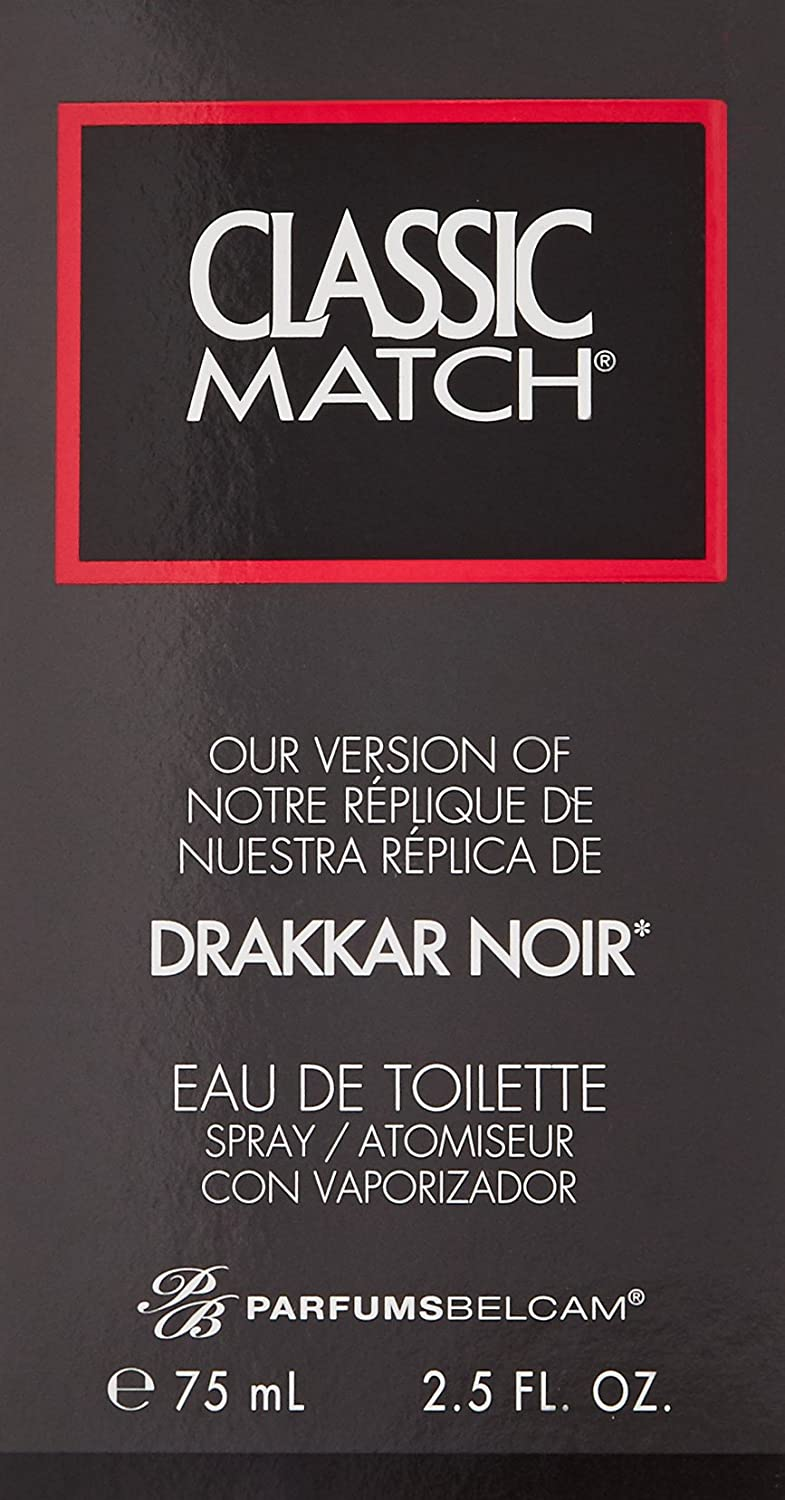 Amazon.com : Classic Match, version of Drakkar Noir for men Eau de Toilette Spray : Colognes : Beauty