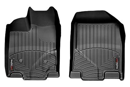 Ford Edge Front Set Weathertech Custom Floor Mats Liners Black
