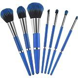 Yameite 7 pcs Makeup Brushes Set, Professional Cosmetics Kit, Female Beautifying Makeup Kit for Foundation Powder…