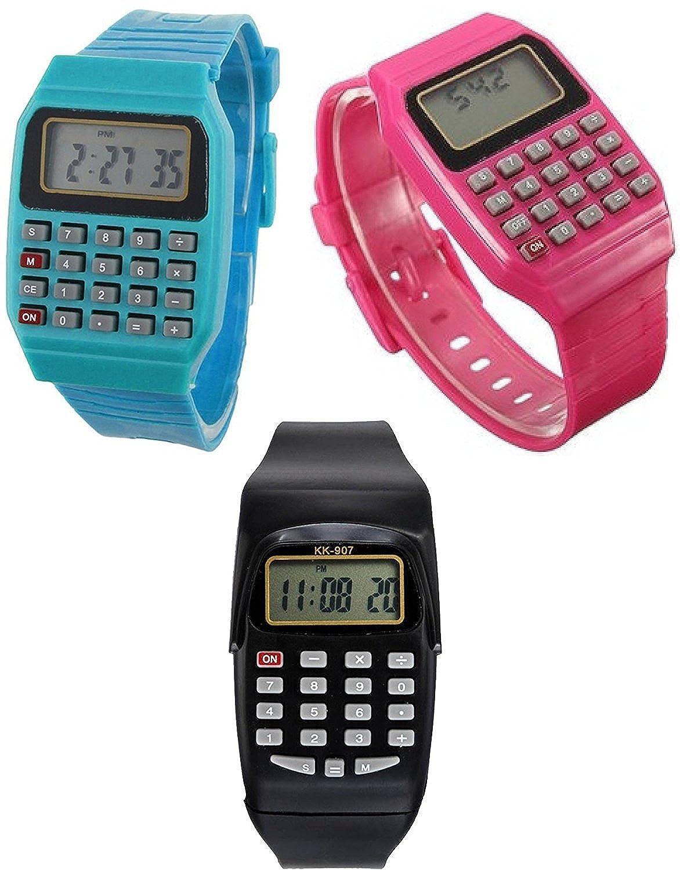 Calculator Digital Watch for Boys & Girls