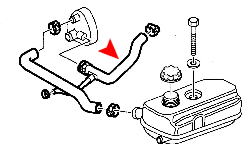 URO‿Parts 7513435 Tuyau de chauffage