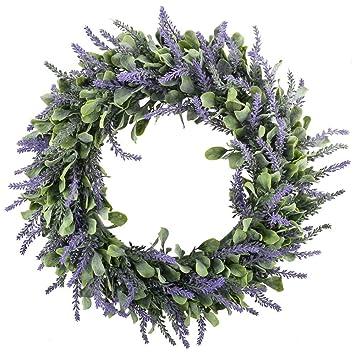 Amazon 17 Artificial Lavender Wreaths Flowers Arrangements