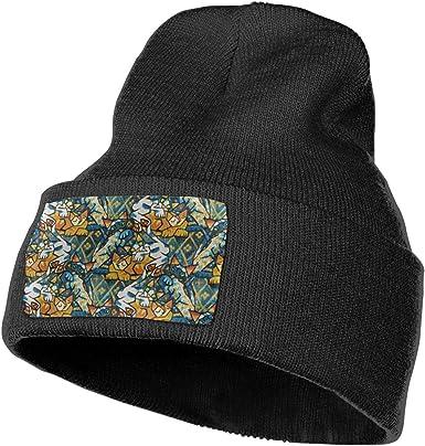 Horizon-t Barbados Flag Unisex 100/% Acrylic Knitting Hat Cap Fashion Beanie Hat