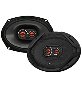 """JBL GX963 600W PEAK Power 6"""" x 9"""" 3-Way GX Series Coaxial Car Audio Loudspeakers (Certified Refurbished)"""