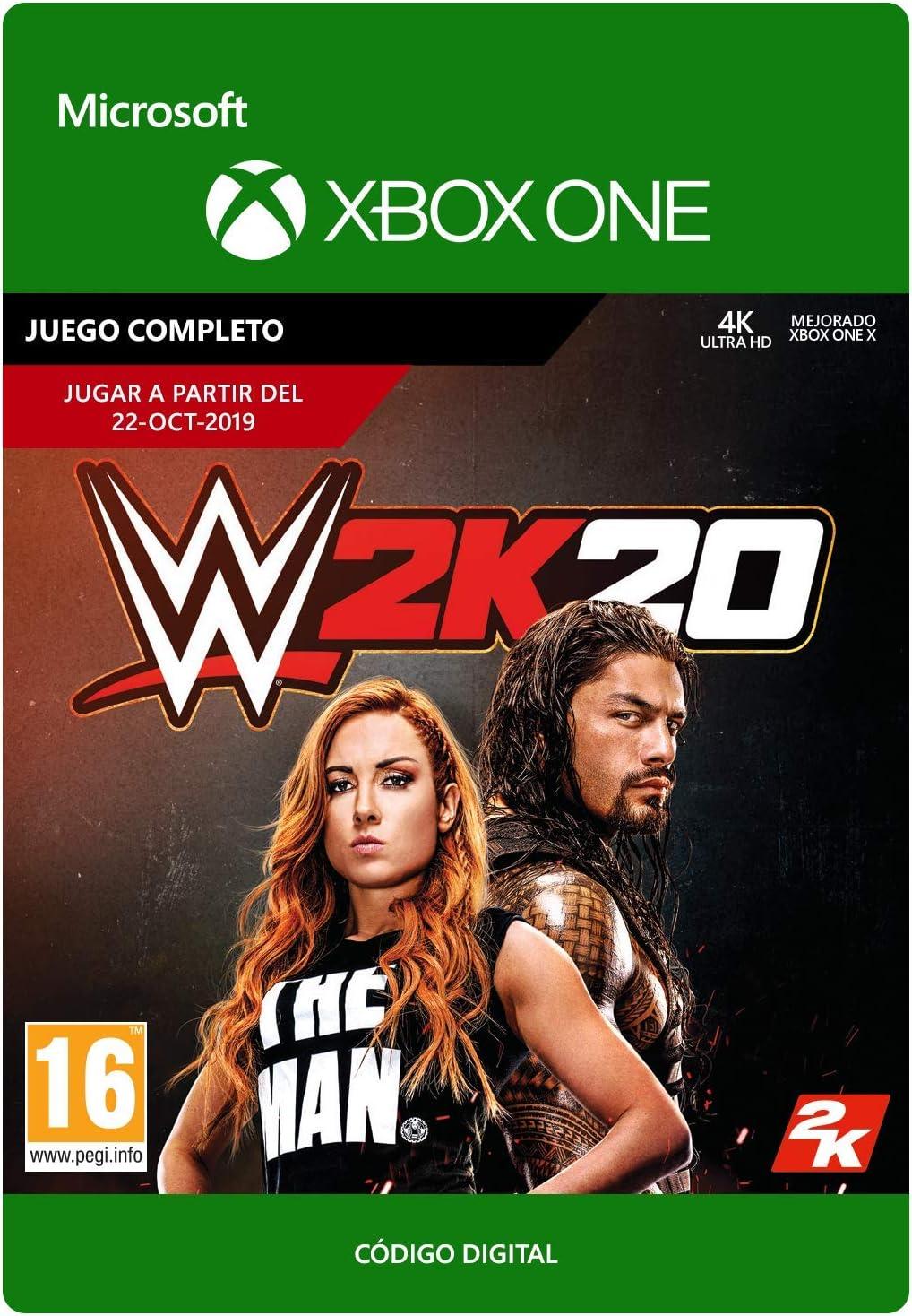 WWE 2K20: Standard   Xbox One - Código de descarga: Amazon.es ...