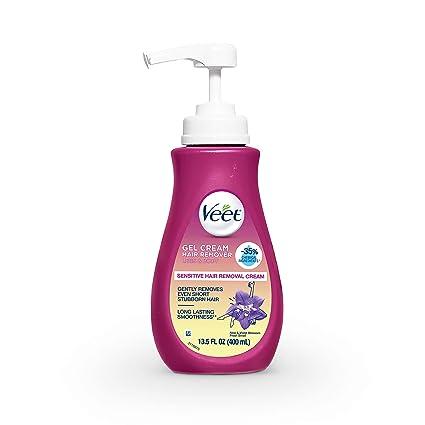 Amazon.com : Hair Remover, Veet Gel Hair Removal Cream Sensitive, 13.5 Ounce, Sensitive formula with Aloe Vera and Vitamin E (Packaging May Vary) : Beauty