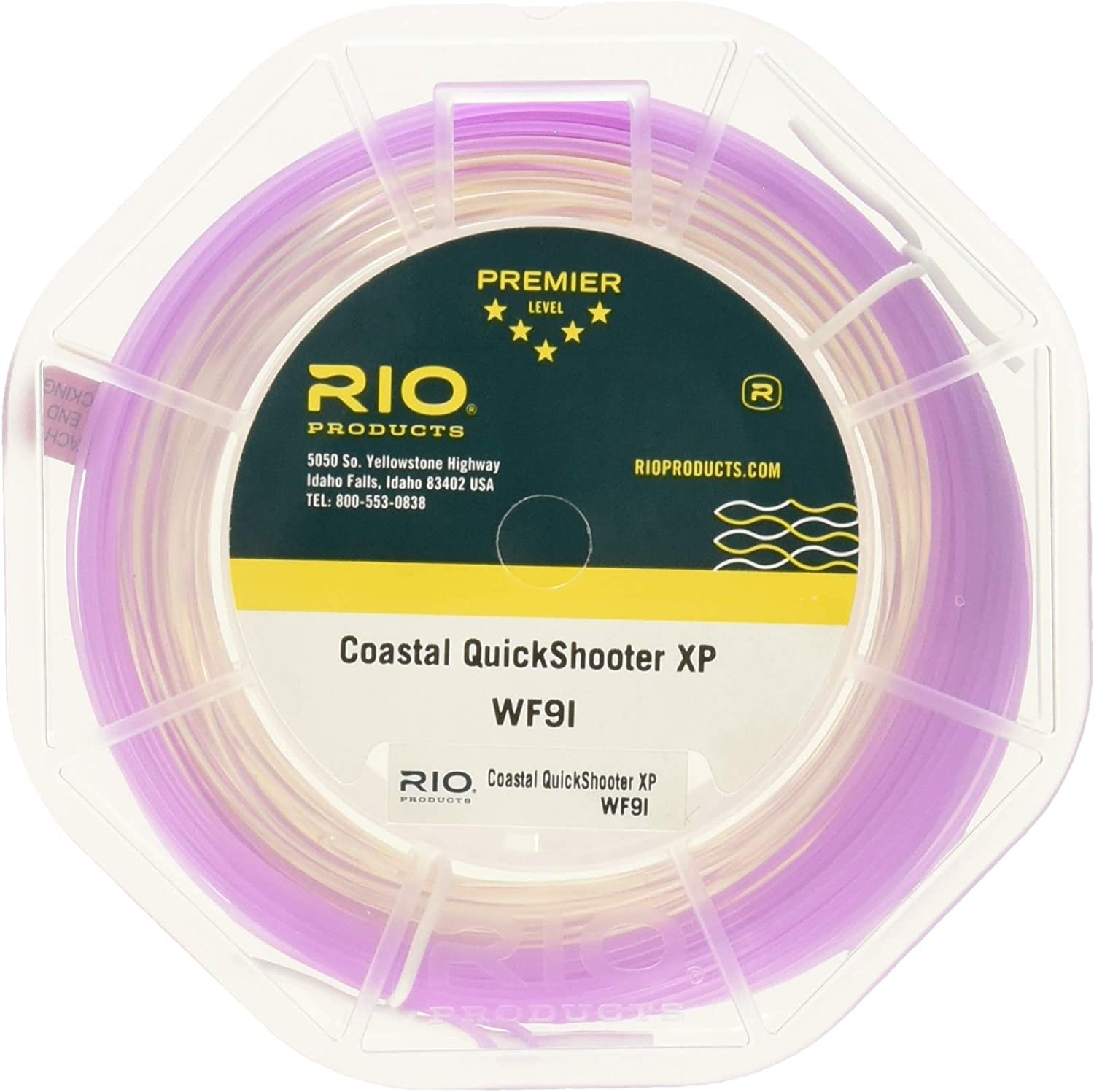 All Sizes RIO Coastal Quickshooter XP Saltwater Intermediate Fly Line