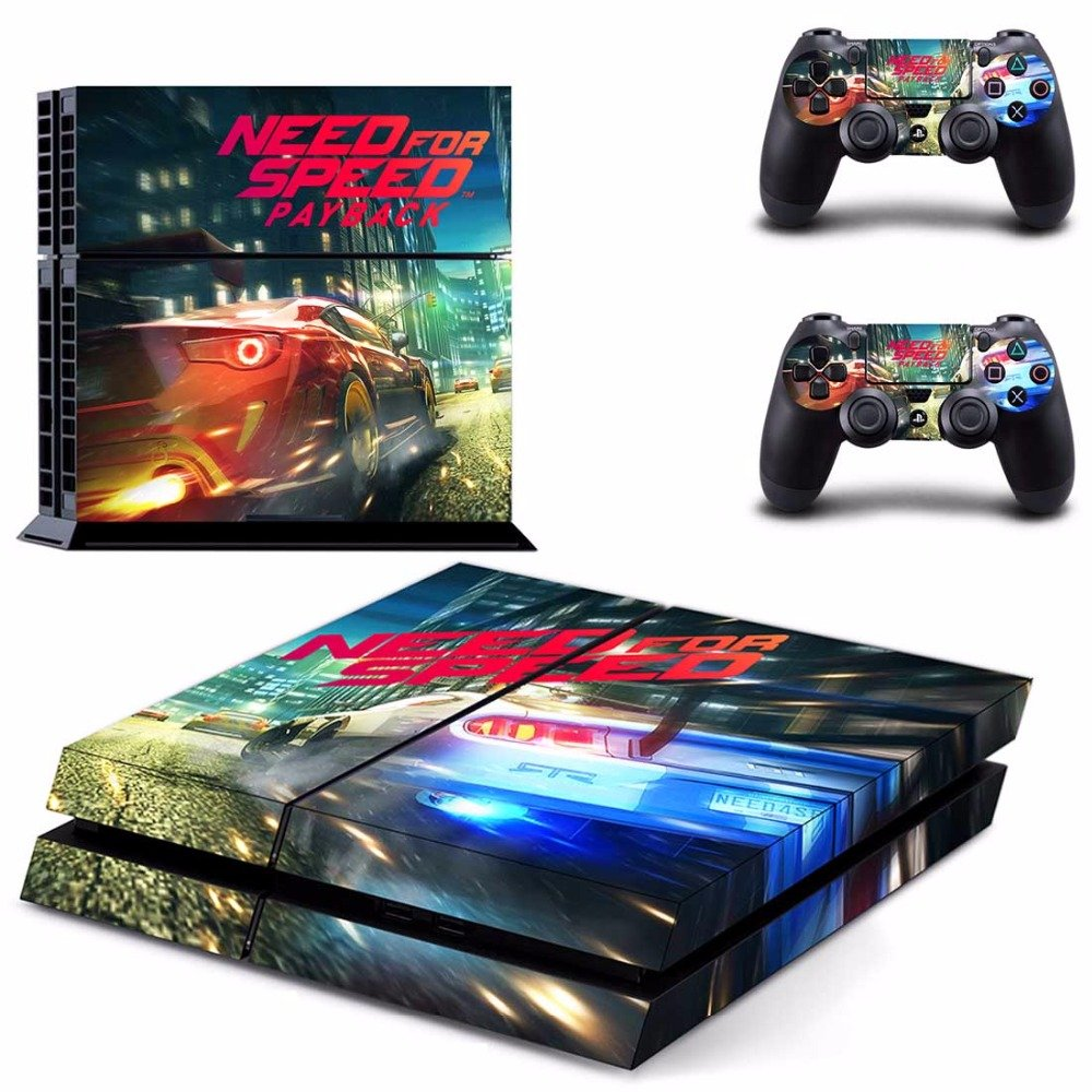 gadgets wrap ps4 need for speed payback theme skin amazon in