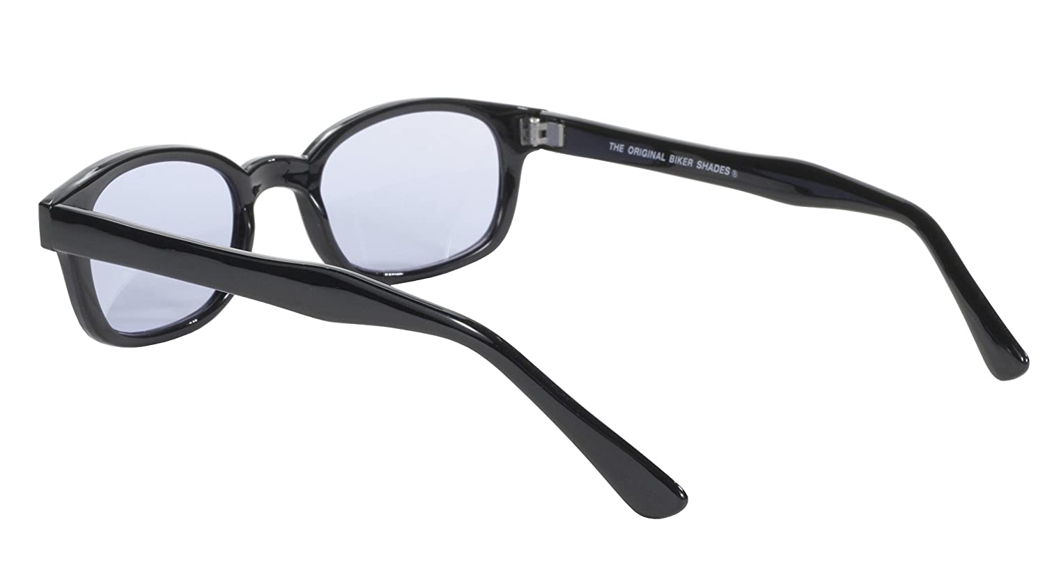 Pacific Coast Sunglasses 2010 Black Frame//Smoke Lens Pacific Coast Original KDs Biker Sunglasses