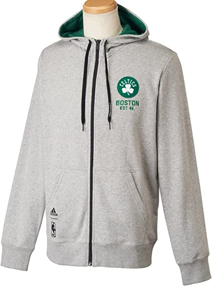 Adidas Nba Boston Celtics Hoodie Veste de survêtement