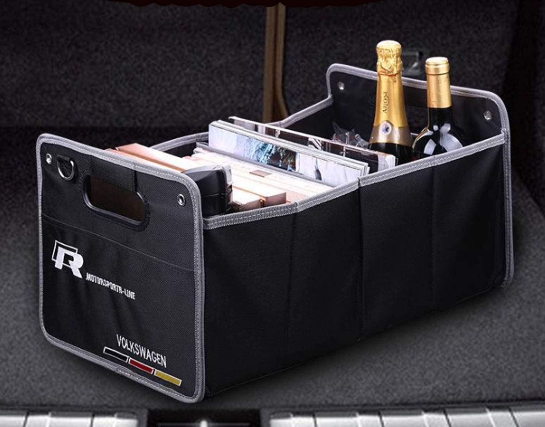 interestingcar Car Trunk Organizer Collapsible Portable Waterproof Multipurpose Storage Box for BMW M Sport x1x3x5x6 3series 5series 7series fit BMW
