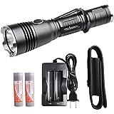 Tactical Police Flashlight ORCATORCH T20 980 LM Nightlight Handheld Flashlight Police linterna