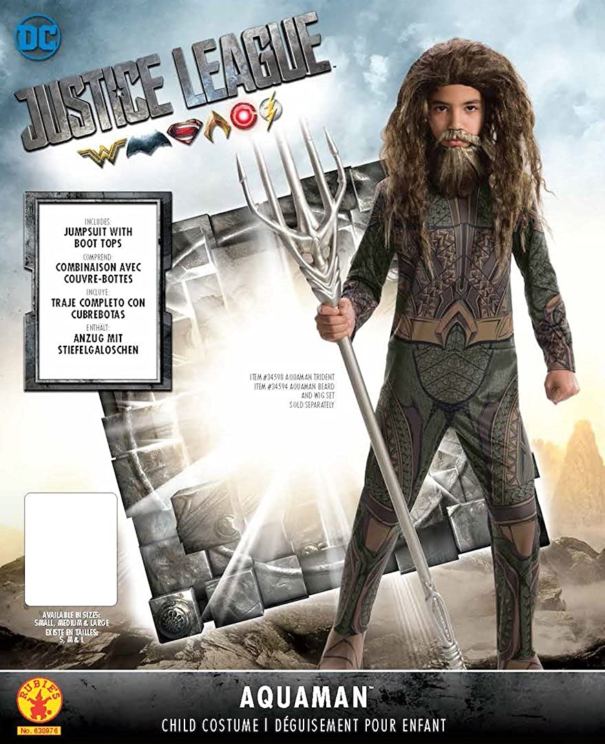 Rubies Justice League Boys Aquaman Costume