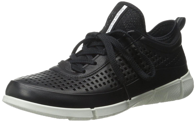 ECCO Women's Intrinsic Sneaker Fashion Sneaker B0113PEECU 38 EU/7-7.5 M US|Black